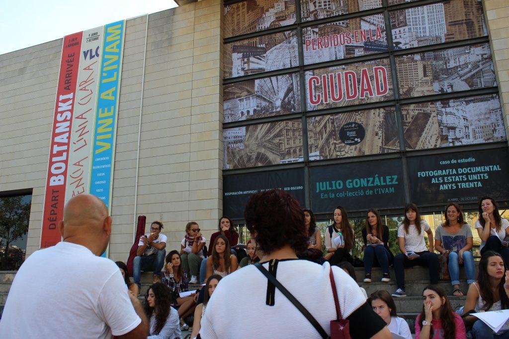 Exposición en el Instituto de arte moderno de Valencia