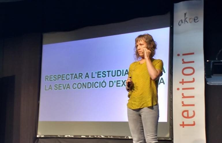 Irene López Secanell conferencia