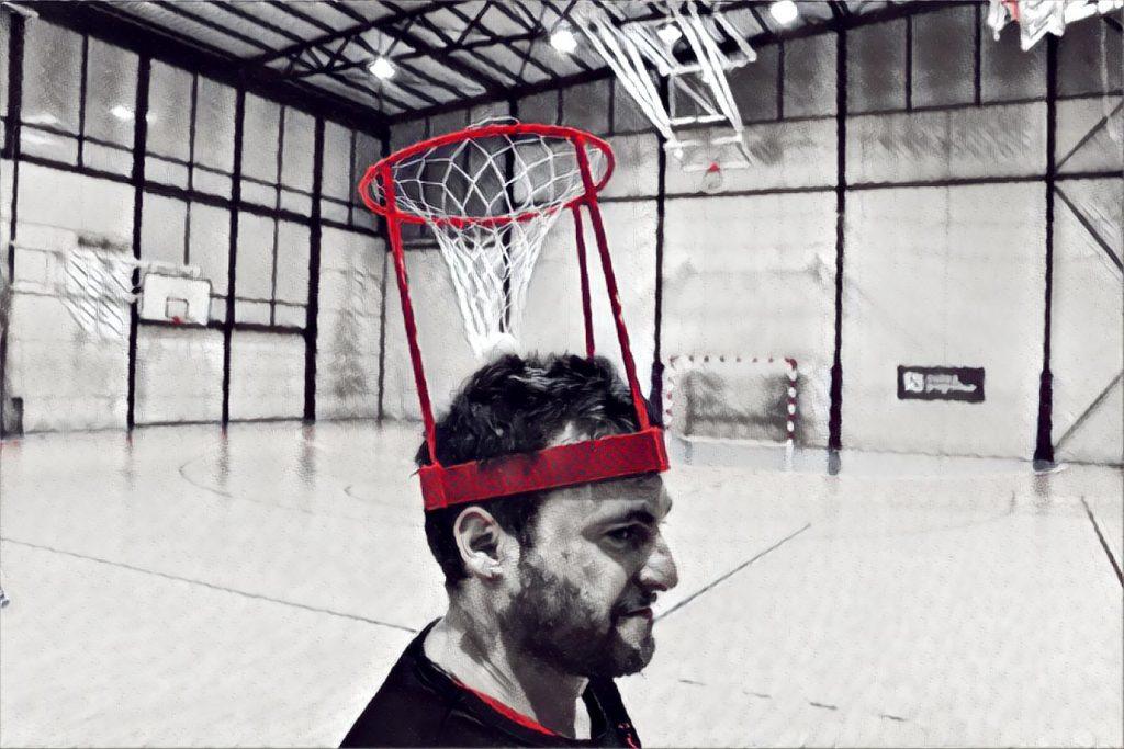 Actividad de básquet educación física